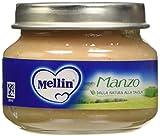 Mellin Omogeneizzato Manzo - 12 Vasetti da 80 gr