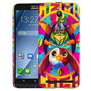 Theskinmantra Gizmo Caca back cover for Asus Zenfone 2