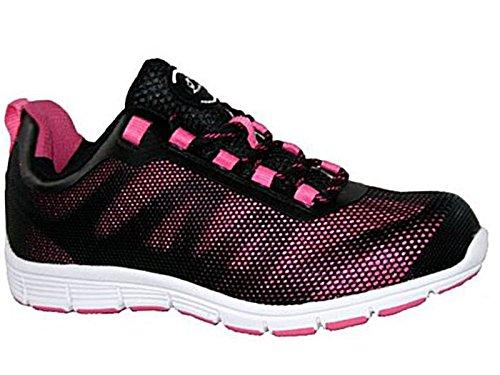 Groundwork , Damen Sicherheits-Sneakers( 5 UK / EU 38, Pink/Schwarz )