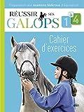 Réussir ses Galops 1 à 4 : Cahier d'exercices