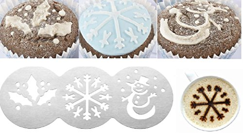 christmas-cup-cake-stencil-coffee-muffin-baking-decoration-mold-party-holly-leaf-snowflake-snowman