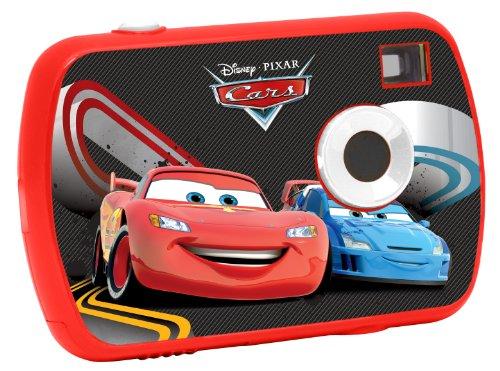 Lexibook le-dj017dc fotocamera digitale per bambini, 1.3 mp, disney cars, rosso