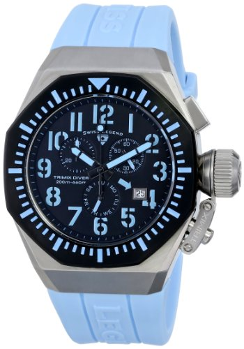 SWISS LEGEND TRIMIX DIVER HOMME CHRONOGRAPHE DATE MONTRE 10540-01-BB-BBLA