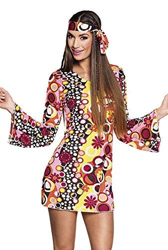 Boland 83867 Kostüm Groovygirl, womens, M (Groovy 70er Jahre Girl Kostüm)