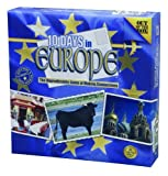 Image for board game 10 Days In Europe Game by Out of the Box [Toy]
