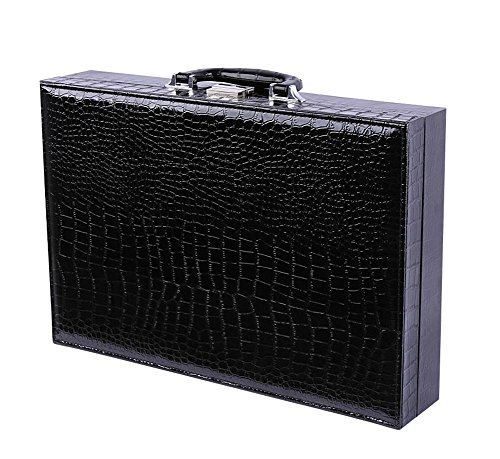 SHISHANG Uhrenbox PU Leder Uhr Speicher Display Theke Display Box Uhrenbox Fenster Uhrenbox, 24 suitcases