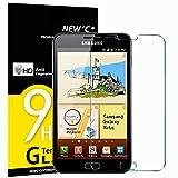 NEW'C Lot de 3 Verre Trempé pour Samsung Galaxy Note 1, Film Protection écran -...