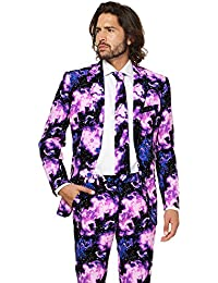 OppoSuits Galaxy Guy Disfraz estampado XXL