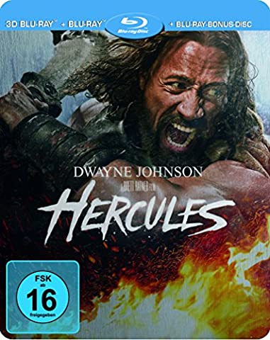Hercules - Steelbook [3D Blu-ray] [Limited Edition]