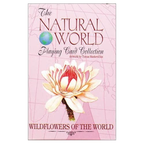 Wildflowers of the World (Natural World Playing Card Collection) by Tomas Markevicius (Illustrator) (25-Jun-1999) Cards