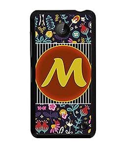 PrintVisa Metal Printed Alphabet Designer Back Case Cover for Nokia Lumia 630-D4796