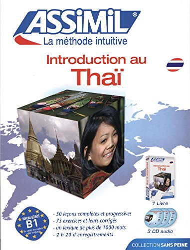 Introduction au Thaï ; Livre + CD Audio (x3)