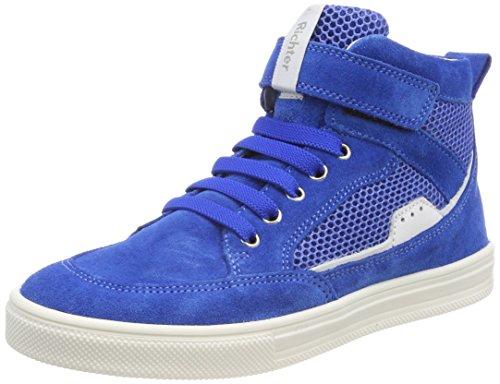 Richter Kinderschuhe Jungen Ola-6542-341 Hohe Sneaker, Blau (Lagoon/Panna), 36 EU