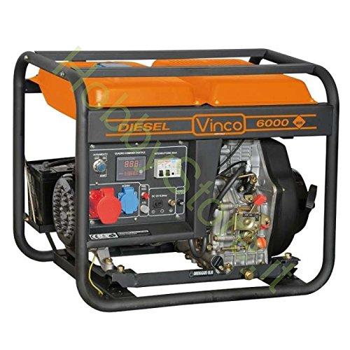 Generatore Di Corrente Diesel Vinco 5,0 Kw usato  Spedito ovunque in Italia