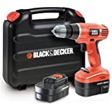 BLACK+DECKER EPC12CABK-QW Trapano/Avvitatore
