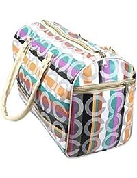 SEPAL Travel Hand Bags, Waterproof Printed Foldable Duffle Shopping/Picnic/Luggage Organizer Bag – Design & Color...