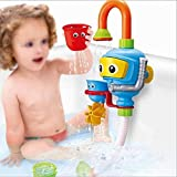 Baby Bath Shower Toys, Diver Spray Toys Spray Station Bathtub Toy - NO Batteries No Power Need