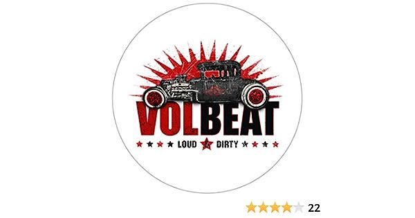 Volbeat Loud Dirty Autoaufkleber Sticker Aufkleber Wasserfest Auto