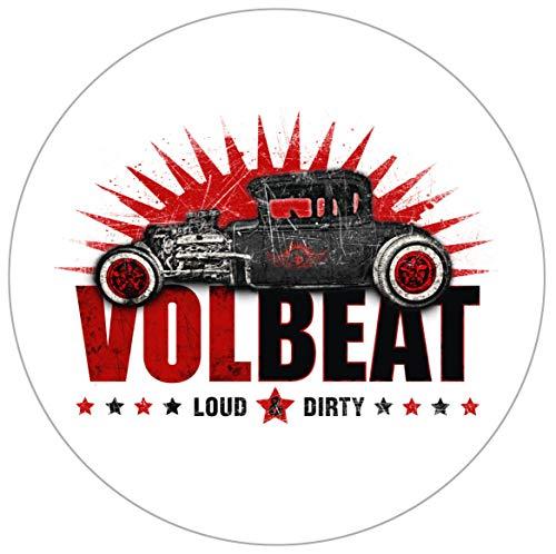 Volbeat Loud & Dirty Autoaufkleber Sticker Aufkleber wasserfest