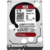 WD Red 6TB interne Festplatte SATA 6Gb/s 64MB interner Speicher (Cache) 8,9 cm 3,5 Zoll 24x7 5400Rpm optimiert für SOHO NAS Systeme 1-8 Bay HDD Bulk WD60EFRX(Zertifiziert und Generalüberholt)
