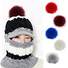 Amazon.it  pom pom di pelliccia 124d6a71439b
