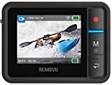 Removu RM-R1 Live View Remote for GoPro HERO3/HERO3+/HERO4 and GoPro Hero4 Session (Black) Image