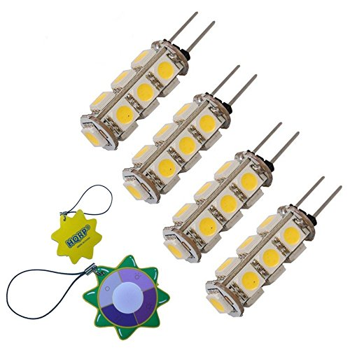 hqrp-paquet-de-4-ampoules-led-12v-pour-4452164-589999-ah374871-ea374871-ps374871-avec-hqrp-metre-du-