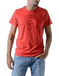 Diesel - Camiseta - para hombre rojo Small