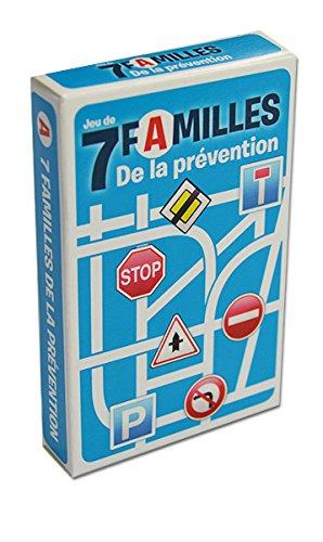Jeu de 42 cartes : 7 familles