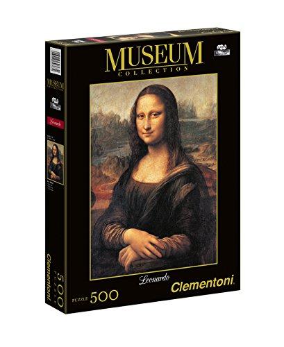 Clementoni - Puzzle Gioconda : Leonardo 500 piezas