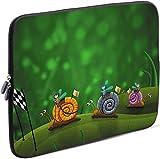 Sidorenko Tablet PC Tasche für 10-10.1 Zoll | Universal Tablet Schutzhülle | Hülle Sleeve Case Etui aus Neopren, Grün