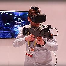 VR Gewehr Regler zum HTC VIVE,Neues Spiel Tracker Virtuelle Realität VR Rifle Bluetooth 4.0 Aufnehmen mit Motor Vibration