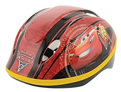 Disney Cars 3 Boy Safety Helmet, Red, 48-54 cm from MV Sports and Leisure Ltd
