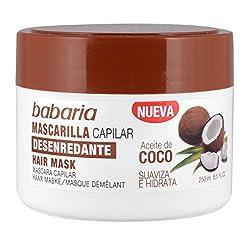 ACEITE DE COCO mascarilla...