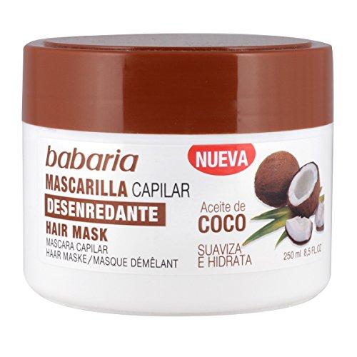 Babaria Aceite de Coco Mascarilla Capilar Desenredante - 250 ml