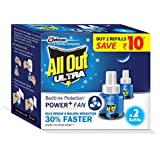 All Out Ultra Power+ FAN (2 refills pack)