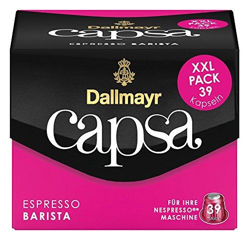 Dallmayr Capsa Espresso Barista XXL, 39 Nespresso* kompatible Kapseln, 1er Pack (1 x 218 g)