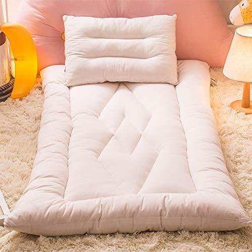 GWW Folding Matratze Pads,weiche Thicken Tatami Bodenmatte Cotton Futon Matratze Topper Wohnheim Sleeping Pads-b 120x200cm(47x79inch) - Baumwolle Futon