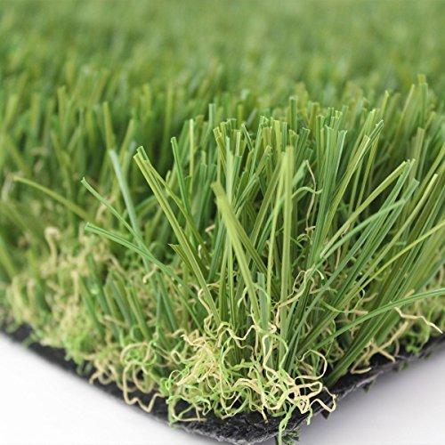 STI Prato sintetico 40mm finta erba tappeto manto giardino 4 sfumature colore 1x10