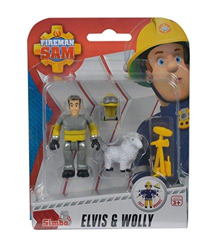 feuerwehrmann sam elvis figur Simba Feuerwehrmann Sam und Pferd Tierrettung Elvis und Wolly Penny und Schnuffi: Farbe: Elvis und Wolli