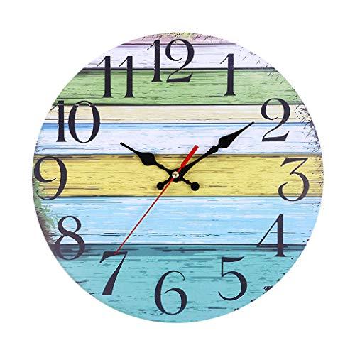 Reloj Pared despertadores Clock silencioso Vintage