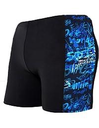 Demarkt Boxer Caleçon/Maillot De Bain For Hommes, Maillot De Bain, Confortable Bain Pour Homme En Bonne élasticité De Materiau High-tech Boxers Slip Plage/Sport/Natation Impression 1PC