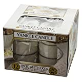 Yankee Candle Candela Tea Light, Spiced White Cocoa, 1