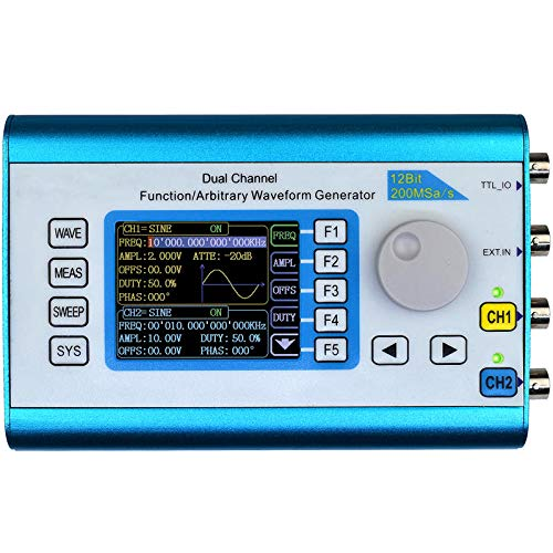 FY2300 20MHz Arbitrary Waveform Dual Channel High Frequency Signal Generator 200MSa/s 100MHz Frequency Meter DDS 20 Mhz Dual-channel