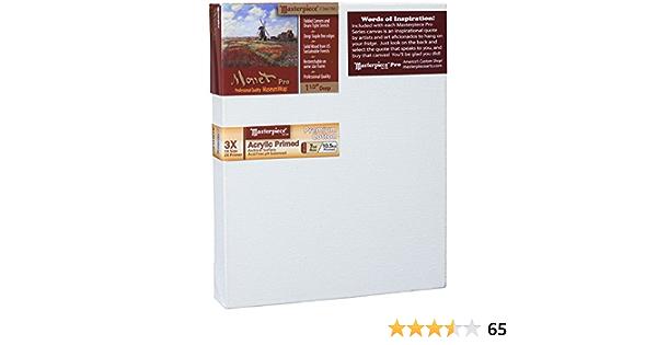 20 x 40 Masterpiece Artist Canvas MM-2040 Monet Pro 1-1//2 Deep Cotton 10.5oz 3X Monterey Most Popular