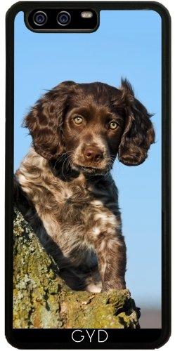 Hülle für Huawei P10 - Niedlich Deutsch Spaniel Hundewelpe by Katho Menden