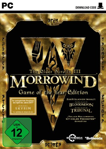 The Elder Scrolls III: Morrowind - Game Of The Year Edition [Download - Code] - [PC] (Skyrim Pc Steam Download)