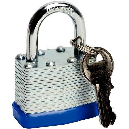 Deet TM711- 50mm PADLOCK. IDEAL FOR GARDEN SHED, TOOL BOX LOCK, GARAGE DOOR, GARDEN GATE ETC. by Deet -