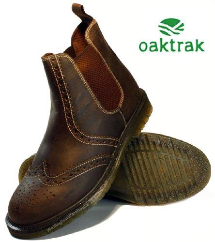 Oaktrak ,  Herren Brogues Dark Brown
