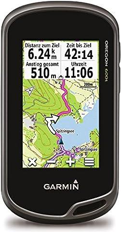 Garmin Oregon 600t GPS Gerät mit robustem 7,6 cm (3